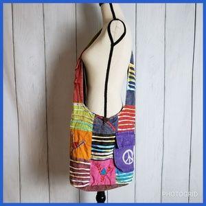 Handbags - Tie Dyed Crossbody Bag